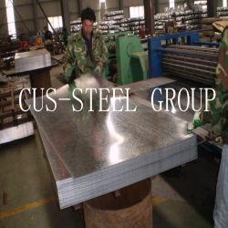 Afrika-heißes eingetauchtes galvanisiertes flaches Stahlblech/galvanisiertes Eisen-Ebenen-Blatt