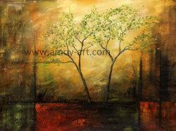 À la main de l'huile sur toile paysage abstrait photo pour la décoration d'accueil