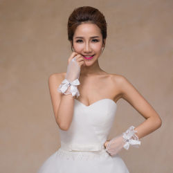 La dentelle Fingerless Gants Les gants de mariée Belle bon marché pour l'accessoire de mariage de mariée