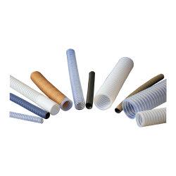 Hochtemperaturplastikgefäß des ausgezeichnete Qualitätsflexibles transparentes gewölbtes Teflongefäß-PTFE