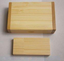 Boîte en bois en vrac lecteur Flash USB Cadeau (OM-W031)
