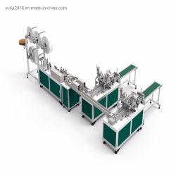 フルオートマチック3ply 4つの層処分の外科マスクのEarloopの溶接機
