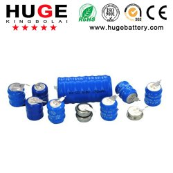 3.6V de batterij van de Cel van de Knoop van NiMH& NiCd (KBL2)