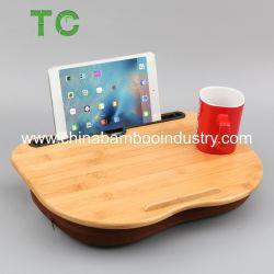 Calculador de bambu de alta qualidade Cama portátil notebook de bambu bandeja volta de turismo