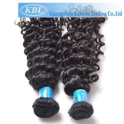 Estensione riccia brasiliana non trattata dei capelli umani del prodotto per i capelli del Virgin