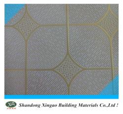 Scheda del soffitto del gesso laminata PVC della Cina con la protezione del di alluminio