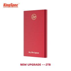 デスクトップのための携帯用SSDのハード・ドライブ2tb SSDの外部ソリッドステートディスクUSB 3.1のタイプC HDの外部2t