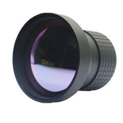 焦点距離75mm 640*512-17um 1.0 8-12um 88%の13.93mm手動焦点Ar赤外線イメージ投射非冷却の探知器の熱探知カメラモーターを備えられたレンズ