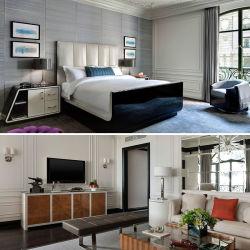 나무로 되는 호텔 침실 가구 침실 세트