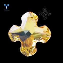 Qualidade superior Crystal cordões soltos multifacetada espumantes de esferas de vidro para decoração pendente manual