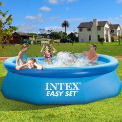 549*122cm Intex über Bodenswimmingpool-aufblasbarem einfachem Set-Pool
