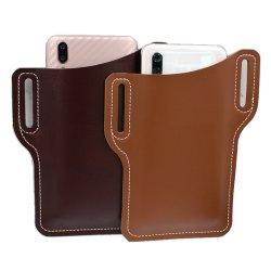 Supporto di piccola dimensione del telefono delle cellule del sacchetto di cuoio dell'unità di elaborazione della cassa di scheda del regalo promozionale