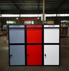Anti-Rust et conception de la boîte aux lettres de gros antivol Letter Box parcelle Locker les boîtes de livraison de colis