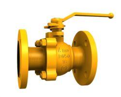 Fabricación de acero fundido antiestático industriales de gas de compuerta de control de la válvula de bola