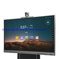 """DV18 Series Android 8.0 Touch Screen Smart Board 65 بوصة 75 بوصة 85"""" لوح أبيض تفاعلي لمؤتمر التعليم والمكتب"""