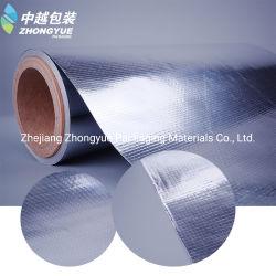 Matériaux d'isolation thermique de tissu MPET recto-verso pour les toitures de film de plastification