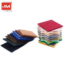 Não Tecidos sentida Painéis acústicos 18mm de isolamento de som Som integrado absorvendo Board