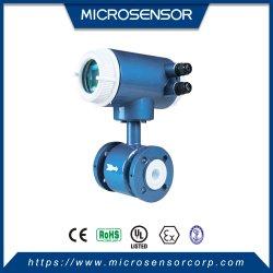 DN100 قياس مياه الصرف الكهرمائية مقياس التدفق الكهرومغناطيسي MFE600