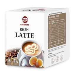 Ganoderma lucidum Instant Latte Café con Reishi espora