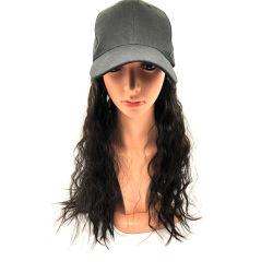 Wendy헤어 여성용 긴 곱슬거리는 빗자루로 인조 머리를 가리는 모자 모자 모자