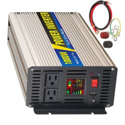 Sug Sgpe-1000W 12/24/48 di VCC di alta frequenza di To110/220VAC fuori dall'invertitore puro dell'automobile di energia solare della casa del veicolo dell'onda di seno di griglia DC/AC
