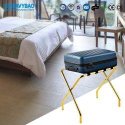 Металлические Heavybao багажа гостевые комнаты полки багажного отделения фальцовки из нержавеющей стали для установки в стойку