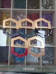 Zarte Neue Mode Horn Emaille Hexagon Metallschnalle