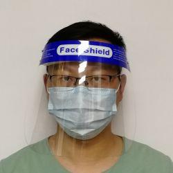 Impresos personalizados protector facial Anti-Fog protector protector facial Cabezal desechable marcha con el protector facial