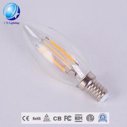 Gradation/Non-Dimmable C35 LED 4W Ampoule à filament des ampoules à incandescence longue LED 4W E14 Socket lampe à LED