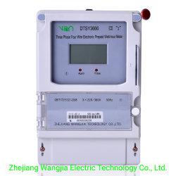 Contatore di energia prepagato trifase/contatore elettrico prepagato trifase/energia di prepagamento trifase Metro 3*5 (20) a
