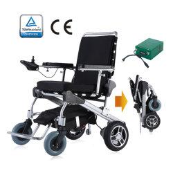 """매우 강한 프레임, 특허가 주어진 디자인, 10의 """" 빠른 이동할 수 있는 모터를 가진 Foldable 폴딩 경량 휴대용 힘 전기 자동 휠체어"""