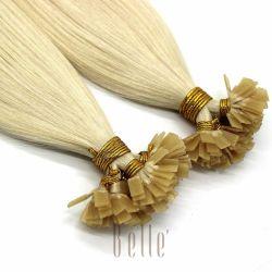 100% Top-Qualität Remy Human Hair Luxus Flat-Tip Haarverlängerung