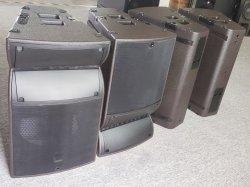 Две 15-дюймовый динамик верхней части A15 широкий Neo компактный шкафа электроавтоматики