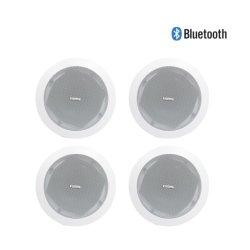Altoparlante di Bluetooth in pollice stereo senza fili 15W di Subwoofer 5 del teatro domestico degli altoparlanti del soffitto audio 8 Ohm per il sistema dell'altoparlante di PA e di musica di priorità bassa