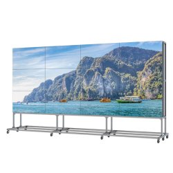 Advertising Player Ultra dunne rand LCD-videomuur 46 inch Video Reclame Full xx Player Android Tablet Adobe Flash Player Download het LCD-scherm voor wandmontage