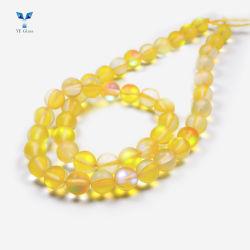 Glänzende Nixe-Kristallglas-Raupen für Armband/Dekoration