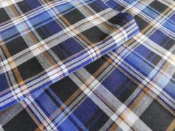 100% 면 트실 다이예 소프트 플라드 플란넬 셔츠 확인 Men Cotton Fabric의 경우
