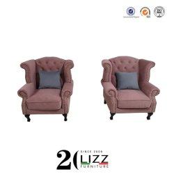 Onlinerabatt-Ausgangs-/Hotel-/Büro-Möbel-Entwurfs-echtes Leder-Sofa-Stuhl