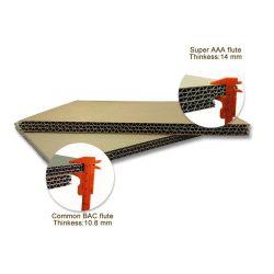 صنع وفقا لطلب الزّبون 3 5 [7بلي] غضّن جدار مزدوجة ورق مقوّى يغضّن صفح ورقيّة