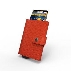 Amazônia Venda quente o titular do cartão de crédito Bloqueio de RFID Anti Scan Carteira de metal dinheiro Clipe de tesouraria