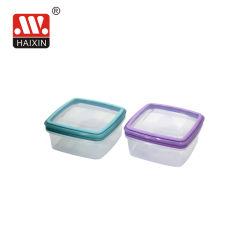 다기능 사각 플라스틱 음식 용기 밀폐 신선한 음식 저장 박스 런치 박스
