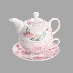Britse namiddag keramische theepot en bekers Gift Ceramic Coffee Pot Thee set