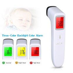 Agua instantánea Leer cuerpo Leer bebé niños inteligentes sin contacto Termómetro de infrarrojos LCD de pantalla de una segunda medición