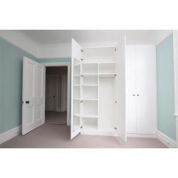 Weg in den Garderoben-Fach-Systems-Wandschrank-Speicher-Ideen