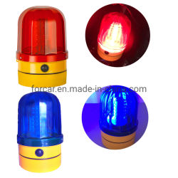 Testemunho de carro de maneio operado a bateria com LED vermelho intermitente / Função de sinal para a máquina