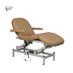 La moderna terapia regulable barato cosméticos salón spa 3 motores eléctricos, Tabla de tratamientos de belleza camilla de masaje facial Podología silla D1502)