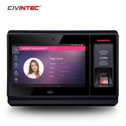 Beweglicher androider Bluetooth NFC RFID Fingerabdruck-Leser mit WiFi GPS