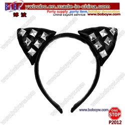 Partei-Zubehör-Katze-Ohr-Stirnband-Haar-Band-Weihnachtsverzierung-Weihnachtsgeschenke (P2012)