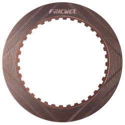 Fricwel Autoteil-kupferne materielle Friktions-Platte für Brevini Hochleistungs-LKW-Platte 396.3073.00