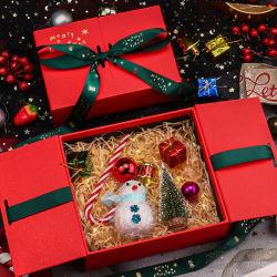 Benutzerdefinierte Band Dekoration Weihnachten Geschenk Verpackung Papier Karton Verpackung Boxen